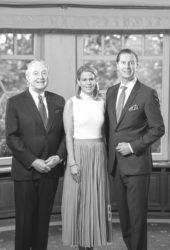 von links Hermann Bareiss, Britta und Hannes Bareiss